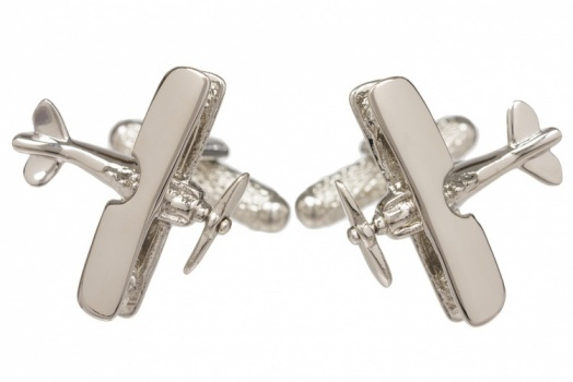 Aeroplane Cufflinks - Tiger Moth